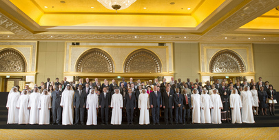 Group Photo of Participants of Abu Dhabi Ascent Climate Change Conference