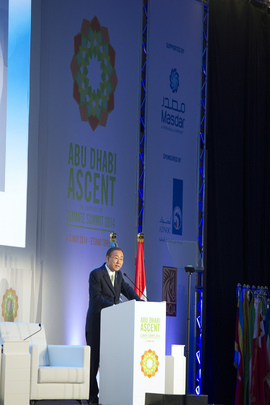 Secretary-General Addresses Closing of Abu Dhabi Conference on Climate Change