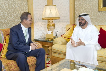 Secretary-General Meets UAE Prime Minister, Dubai