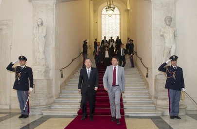 Secretary-General Meets Prime Minister of Italy