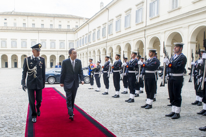 Secretary-General at Palazzo del Quirinale, Rome