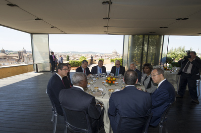 Working Lunch Hosted by Mayor of Rome for UN System Chiefs