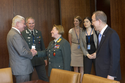 Secretary-General Appoints First Female UN Force Commander