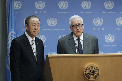 Joint Special Representative Brahimi Steps Down as Special Envoy to Syria