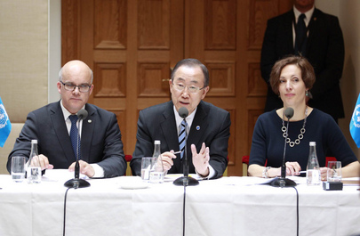 Secretary-General at Civil Society Seminar, Stockholm
