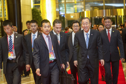 Secretary-General Arrives in China for Official Visit