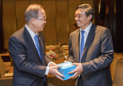Secretary-General Meets Head of China Development Bank
