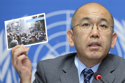 UNRWA Director of Health Briefs the Press on Current Health Crisis in Middle East