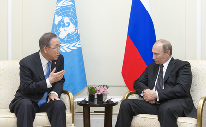 Secretary-General Meets President of Russia