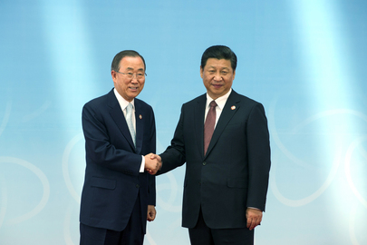 Secretary-General Attends CICA Summit in Shanghai