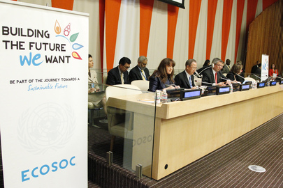 ECOSOC Integration Segment: Sustainable Urbanization