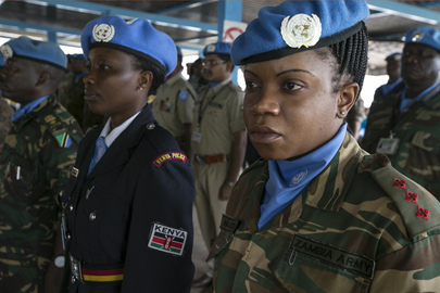 International Peacekeepers Day: UNMISS Medal Parade, Juba