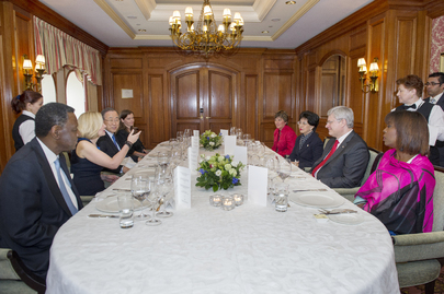 Secretary-General at Dinner Hosted by Prime Minister of Canada
