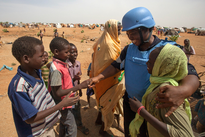 El Sereif Camp for Internally Displaced Persons, South Darfur