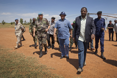 Congolese Minister Meets with Surrendered FDLR Rebels at MONUSCO Base