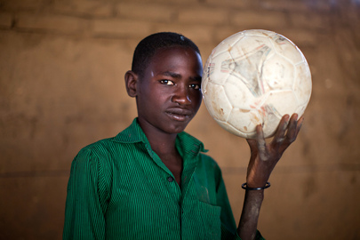 Portrait of Displaced Youth in Abu Shouk IDP Camp, North Darfur