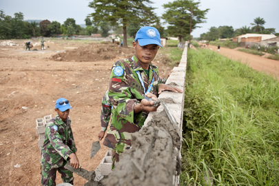 Indonesian Peacekeepers in Central African Republic