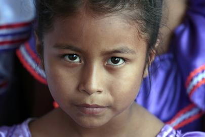 Young Resident of Santa Rita, Bolivia