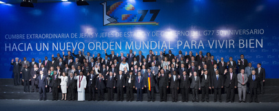 Secretary-General Attends 50th Commemorative G77 Summit