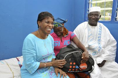 Head of UNOCI Visits Hospital in Korhogo