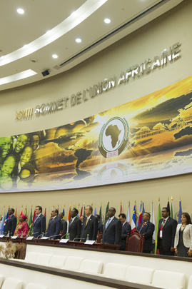Secretary-General Attends African Union Summit