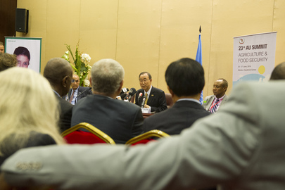 Press Conference by Secretary-General at AU Summit