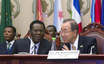 Secretary-General Attends AU Summit in Malabo, Equatorial Guinea