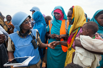 Community Policing in Zam Zam Camp, Darfur