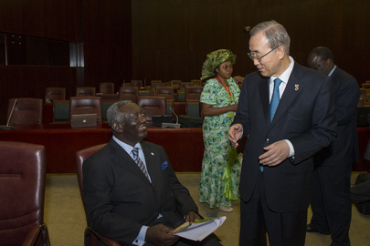Secretary-General Attends Meeting of African Heads of State Committee on Climate Change
