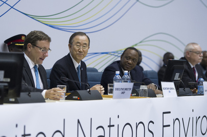 Secretary-General Attends UN Environment Assembly