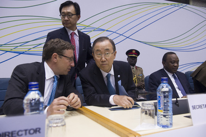 Secretary-General Attends UN Environmental Assembly
