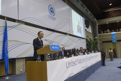 Secretary-General Addresses UN Environment Assembly