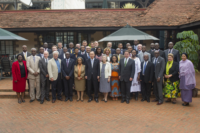 Secretary-General Meets UN Country Team in Kenya