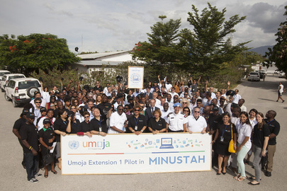 Umoja Launched at MINUSTAH