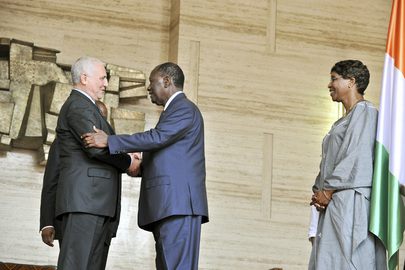 Special Representative for West Africa Meets President of Côte d'Ivoire