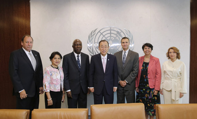 Secretary-General Meets Audit Advisory Committee