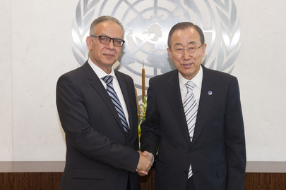 Secretary-General Meets Head of Commission on Narcotic Drugs