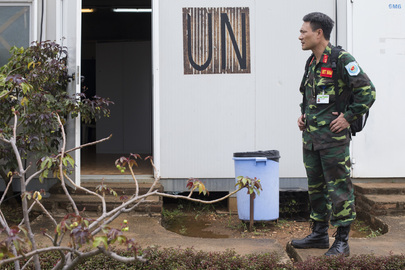 Arrival of Vietnamese Peacekeepers to UNMISS