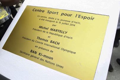 Secretary-General Visits Sports for Hope Centre, Port-au-Prince