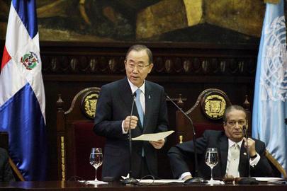 Secretary-General Addresses Dominican Congress