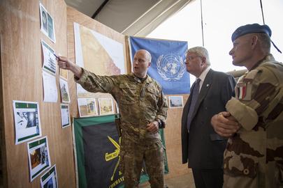 Head of UN Peacekeeping Visits Gao, Mali