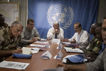Head of UN Peacekeeping Visits Gao, Mali
