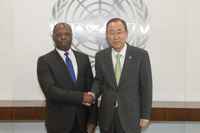 Secretary-General Meets President of the Human Rights Council