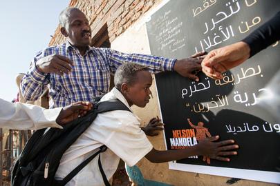 UNAMID commemorates Nelson Mandela International Day
