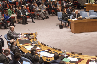Security Council Disscuses Middle East Situation