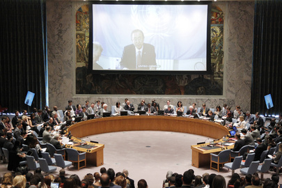 Secretary-General Briefs Security Council on Middle East