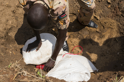 Conventional Munitions Disposal Training in Rejaf, South Sudan