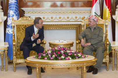 Secretary-General Meets President of Iraqi Kurdistan Region