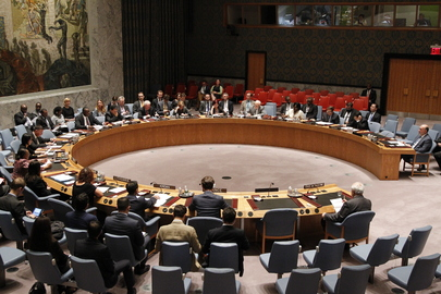 Security Council Calls for Ceasefire in Gaza