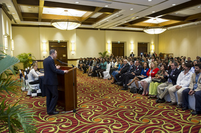 Secretary-General Addresses UN Staff in Managua
